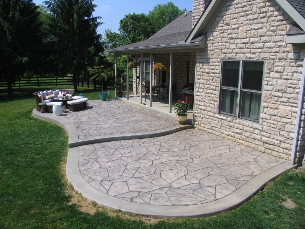 Stamped Concrete Driveways Patios Walkways Pool Deck And