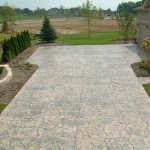 STAMP PATTERN: RANDOM FLAGSTONE<br />COLOR HARDENER: PUTTY<br />RELEASE: CHARCOAL