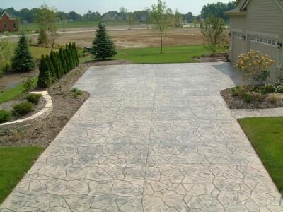 Stamped Concrete Driveways Patios Walkways Pool Deck And